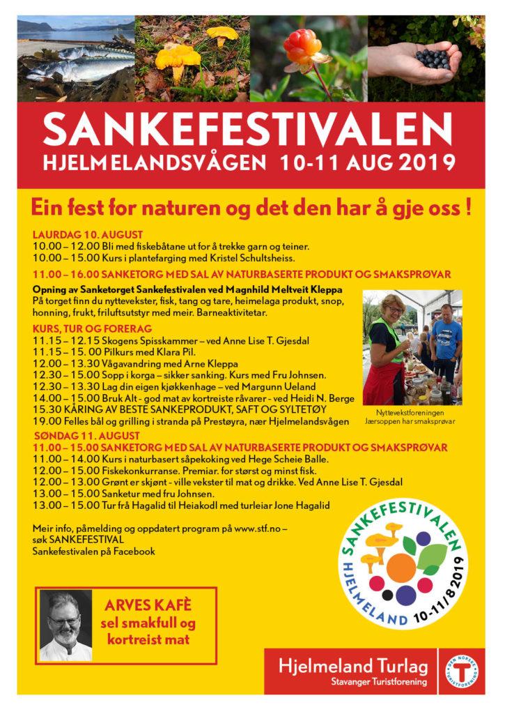 Sankefestivalen Hjelmeland 2019